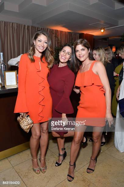Rebecca Dane Soleil Moon Frye and Selma Blair attend Rachel Zoe SS18 Presentation at Sunset Tower Hotel on September 5 2017 in West Hollywood...