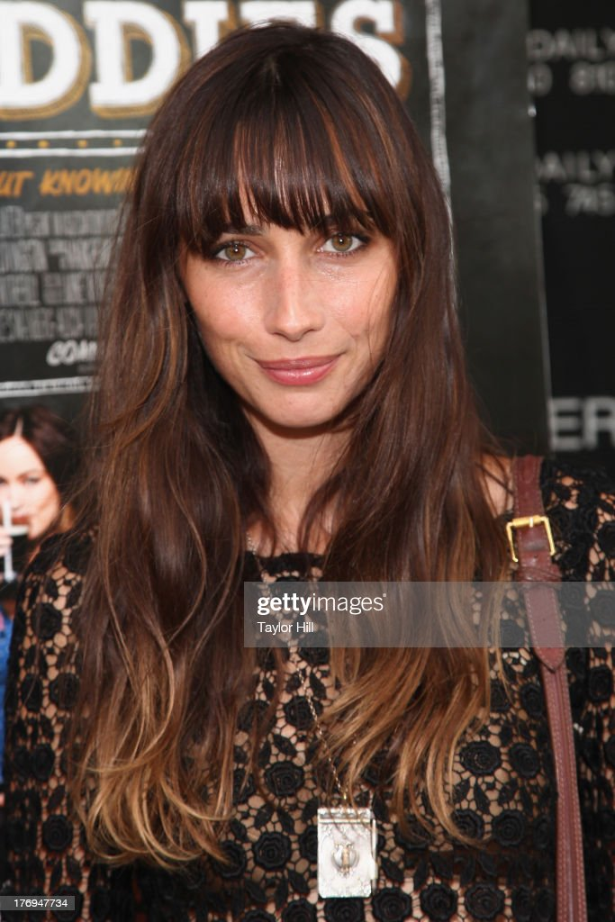 Rebecca Dayan attends the 'Drinking Buddies' screening at Nitehawk Cinema on August 19, 2013 in the Brooklyn borough of New York City.