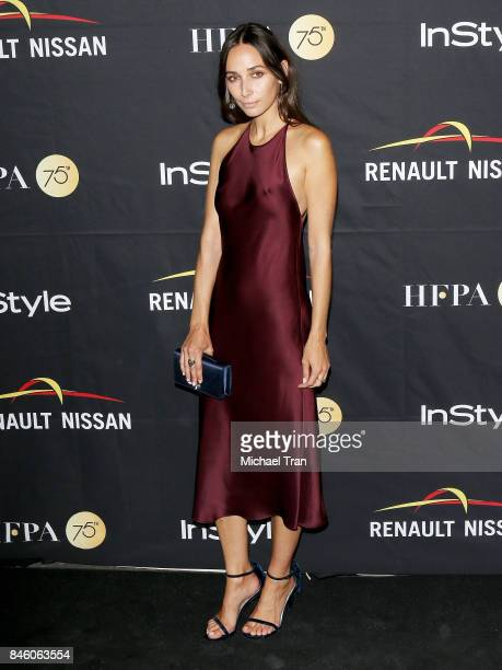Rebecca Dayan attends the HFPA InStyle Annual Celebration of 2017 Toronto International Film Festival held at Windsor Arms Hotel on September 9 2017...