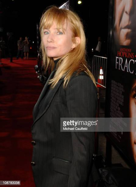 Rebecca De Mornay during 'Fracture' Los Angeles Premiere Red Carpet at The Mann Village Theatre in Westwood California United States