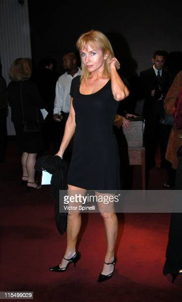 Rebecca De Mornay during Opening Night of 'The Graduate' Los Angeles at Whilshire Theatre in Beverly Hills California United States