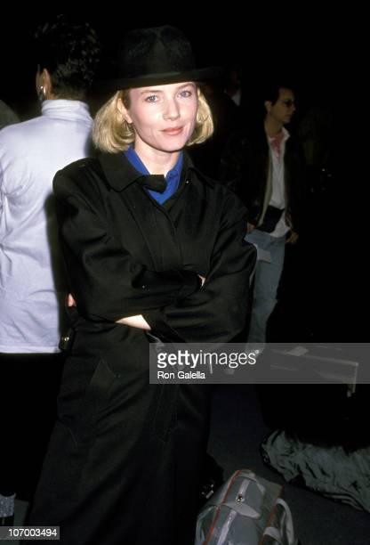Rebecca De Mornay during Rebecca De Mornay Sighting at Los Angeles International Airport October 6 1989 at Los Angeles International Airport in Los...