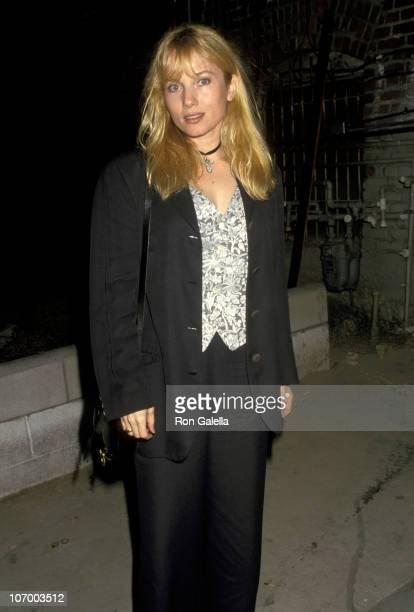 Rebecca De Mornay during Rebecca De Mornay Sighting at Roxbury Club August 14 1993 at Roxbury Club in Hollywood California United States