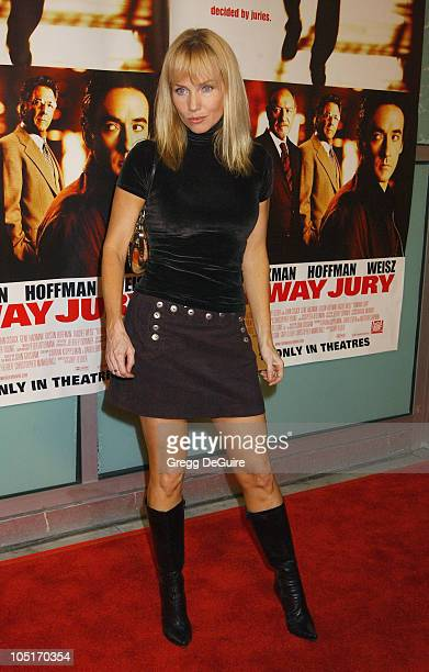 Rebecca De Mornay during 'Runaway Jury' World Premiere at Cinerama Dome in Hollywood California United States