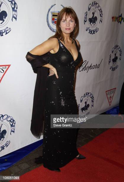 Rebecca De Mornay during The 15th Carousel Of Hope Ball Arrivals at Beverly Hilton Hotel in Beverly Hills California United States