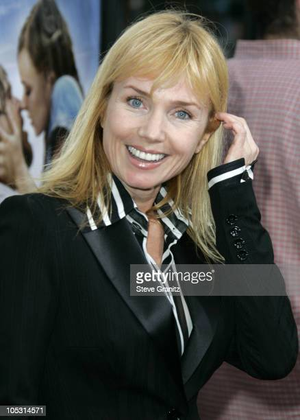 Rebecca De Mornay during 'The Notebook' Los Angeles Premiere Arrivals at Mann Village Theatre in Westwood California United States