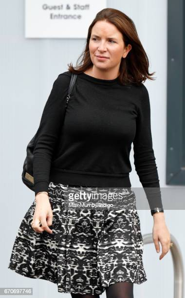 Rebecca Deacon attends the official opening of The Global Academy in support of Heads Together on April 20 2017 in Hayes England The Global Academy...
