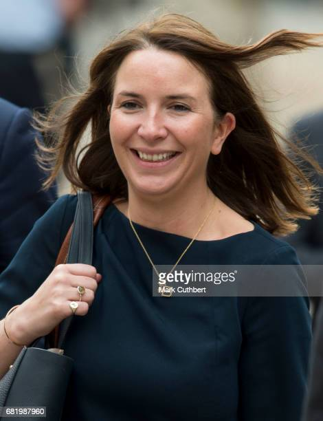 Rebecca Deacon during a visit by Catherine Duchess of Cambridge to the Drai Eechelen Museum on a one day visit to Luxembourg on May 11 2017 in...