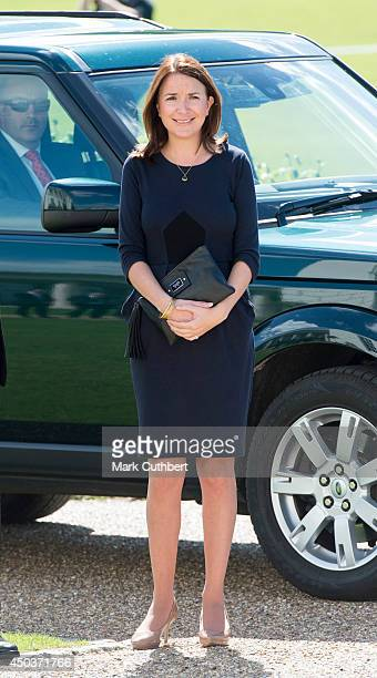 Rebecca Deacon during an official visit by Catherine Duchess of Cambridge to National Maritime Museum on June 10 2014 in London England