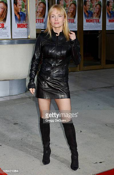 Rebecca DeMornay during 'MonsterInLaw' Los Angeles Premiere Arrivals at Mann National Theatre in Westwood California United States
