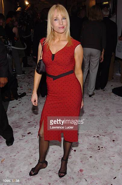 Rebecca DeMornay during Wedding Crashers New York City Premiere Inside Arrivals at Ziegfeld Theater in New York City New York United States