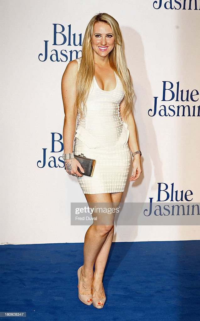 Rebecca Ferdinando attends the UK premiere of 'Blue Jasmine' at Odeon West End on September 17, 2013 in London, England.