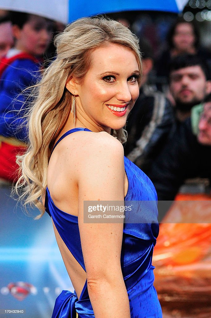 Rebecca Ferdinando attends the UK Premiere of 'Man of Steel' at Odeon Leicester Square on June 12, 2013 in London, England.