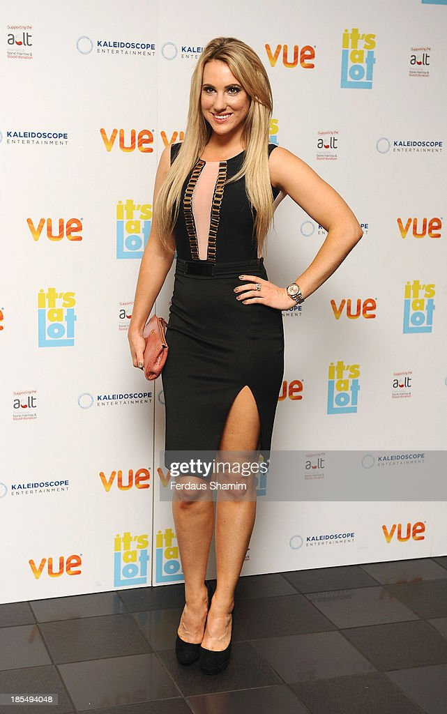 Rebecca Ferdinando attends the West End Premiere of 'It's A Lot' at Vue West End on October 21, 2013 in London, England.