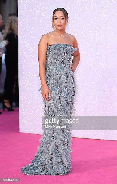 Rebecca Ferguson arrives for the World premiere of 'Bridget Jones's Baby' at Odeon Leicester Square on September 5 2016 in London England