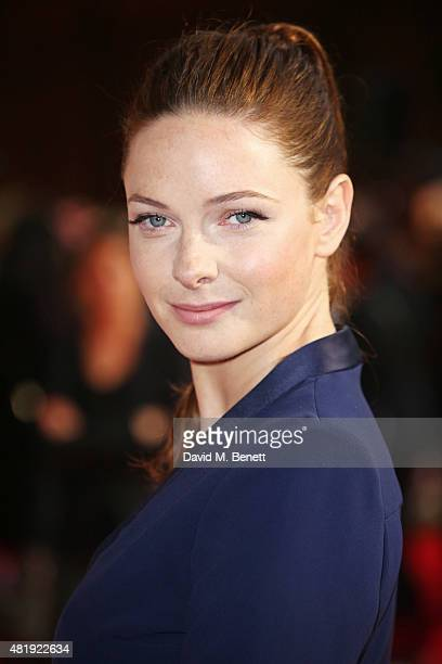 Rebecca Ferguson attends an exclusive screening of 'Mission Impossible Rogue Nation' at the BFI IMAX on July 25 2015 in London England