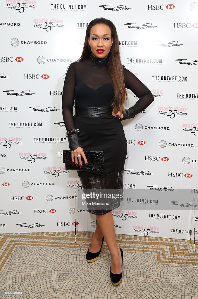 <a gi-track='captionPersonalityLinkClicked' href=/galleries/search?phrase=Rebecca+Ferguson+-+Singer&family=editorial&specificpeople=12319573 ng-click='$event.stopPropagation()'>Rebecca Ferguson</a> attends the 25th birthday party of Marie Claire at Hotel Cafe Royal on September 17, 2013 in London, England.