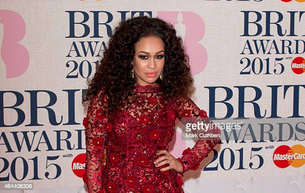 Rebecca Ferguson attends the BRIT Awards 2015 at The O2 Arena on February 25 2015 in London England