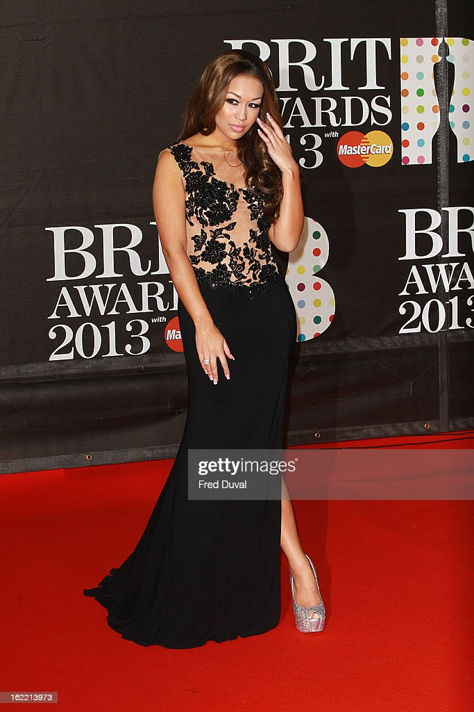 Rebecca Ferguson attends the Brit Awards at 02 Arena on February 20, 2013 in London, England.
