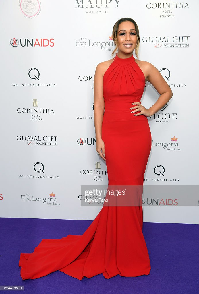 Rebecca Ferguson attends the Global Gift Gala in partnership with Quintessentially on November 19, 2016 at the Corithinia Hotel in London, United Kingdom.