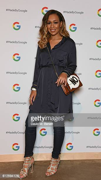 Rebecca Ferguson attends the launch of Google's new phone 'Pixel' with an exclusive live performance from Craig David in front of a starstudded...