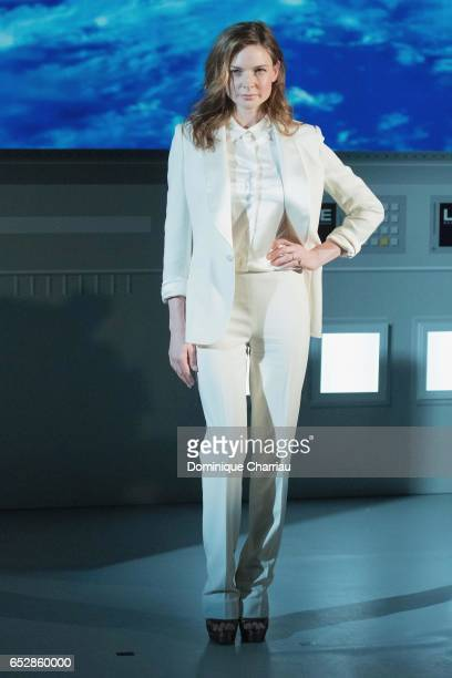 Rebecca Ferguson attends the 'Life' Photo Call At Paris Planetarium on March 13 2017 in Paris France
