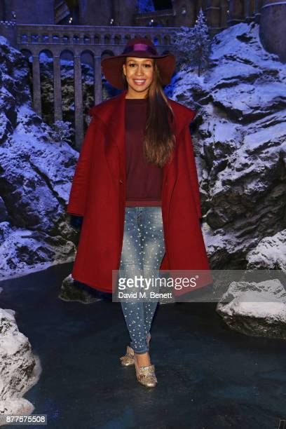 Rebecca Ferguson attends the VIP launch of 'Hogwarts In The Snow' at Warner Bros Studio Tour London The Making Of Harry Potter on November 22 2017 in...