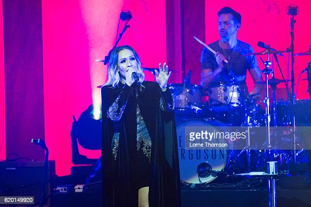 Rebecca Ferguson performs at London Palladium on November 1 2016 in London England