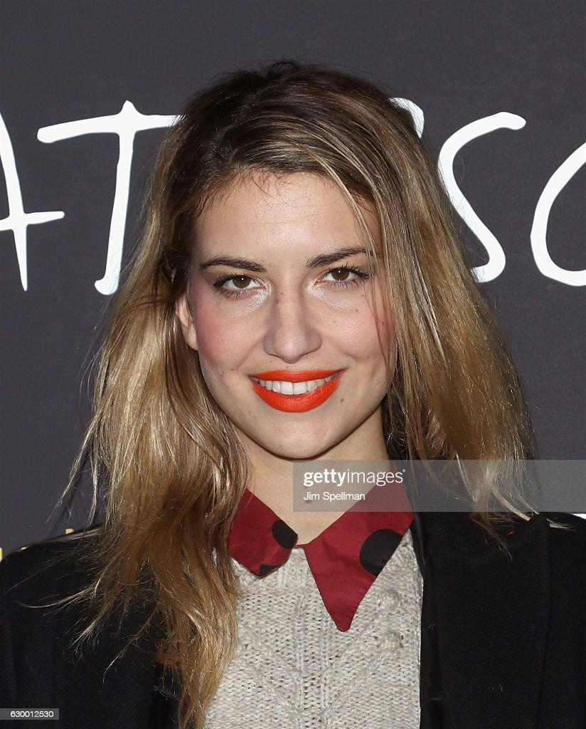 Rebecca Fourteau attends the 'Paterson' New York screening at Landmark Sunshine Cinema on December 15, 2016 in New York City.