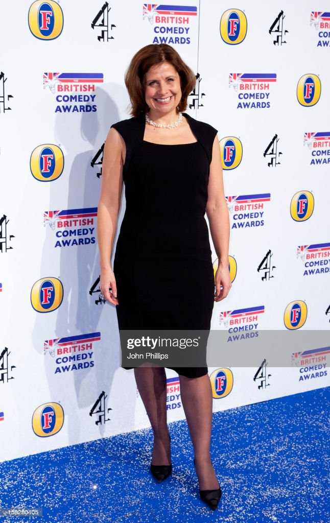 Rebecca Front attends the British Comedy Awards at Fountain Studios on December 12, 2012 in London, England.