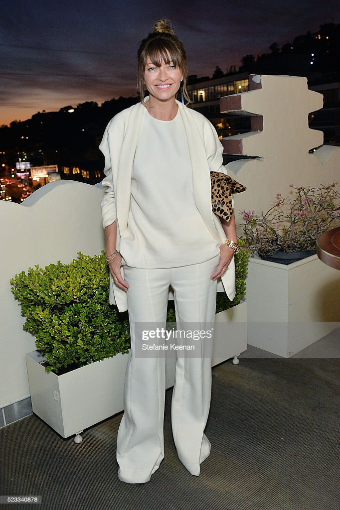 Rebecca Gayheart attends harper x Harper's BAZAAR May Issue Event Hosted By Hailee Steinfeld And Laura Brown at Sunset Tower Hotel on April 22 2016...