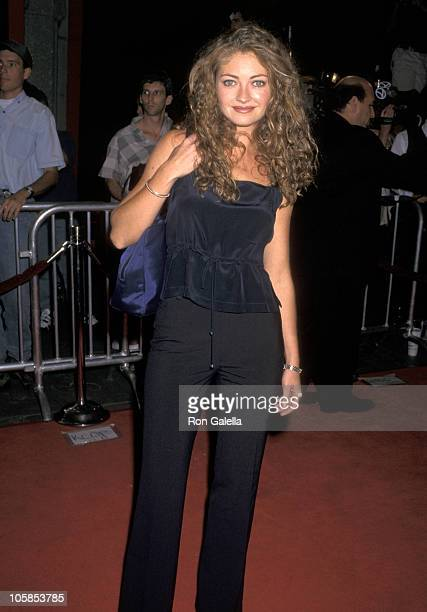 Rebecca Gayheart during 'Boogie Nights' Los Angeles Premiere at Mann Chinese Theatre in Hollywood California United States