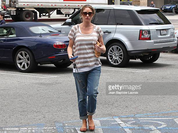 Rebecca Gayheart is seen at CVS on July 13 2011 in Los Angeles California