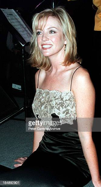 Rebecca Gibney after rehearsals for the stage production of 'Happy Days The Arena Mega Musical' at the Sydney SuperDome on October 15 1999 in Sydney...