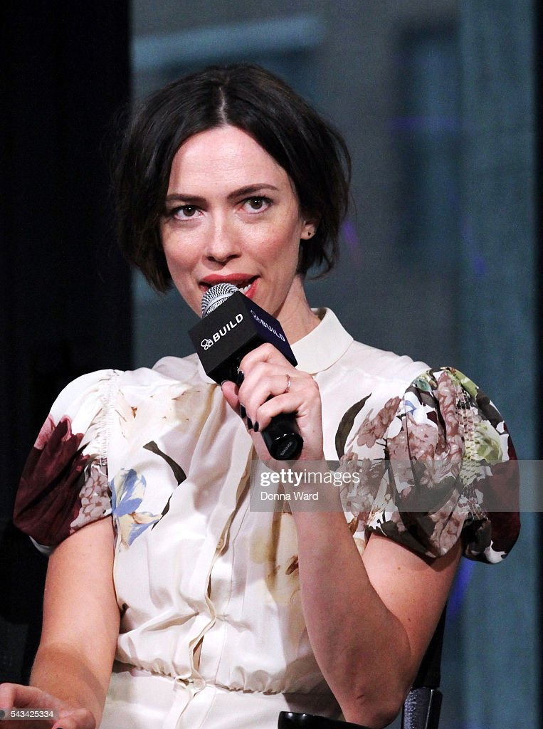 Rebecca Hall appears to promote 'The BFG' during the AOL BUILD Series at AOL Studios In New York on June 28, 2016 in New York City.
