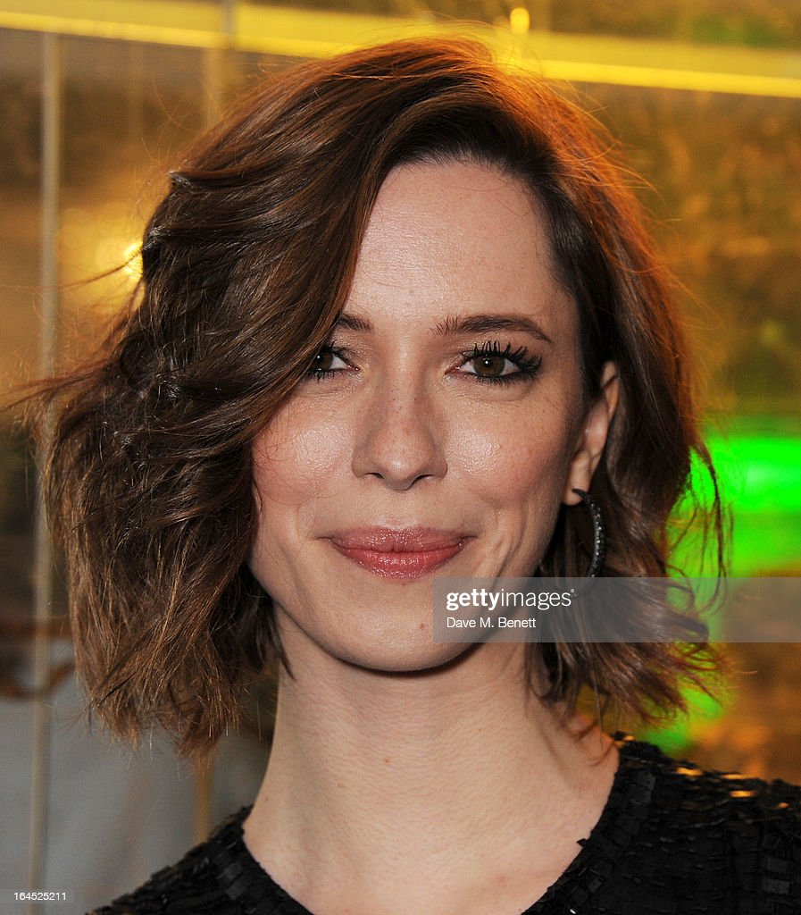 Rebecca Hall arrives at the Jameson Empire Awards 2013 at The Grosvenor House Hotel on March 24, 2013 in London, England.