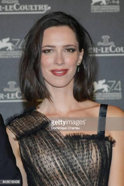 Rebecca Hall arrives for the JaegerLeCoultre Gala Dinner during the 74th Venice International Film Festival at Arsenale on September 5 2017 in Venice...