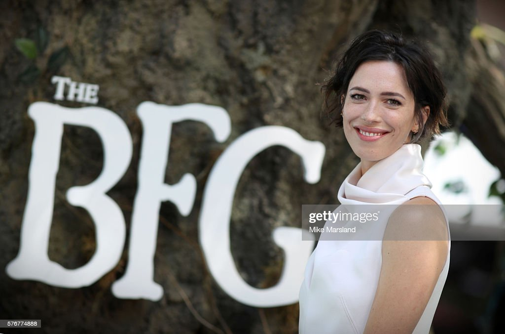 Rebecca Hall arrives for the UK film premiere of the BFG on July 17 2016 in London England