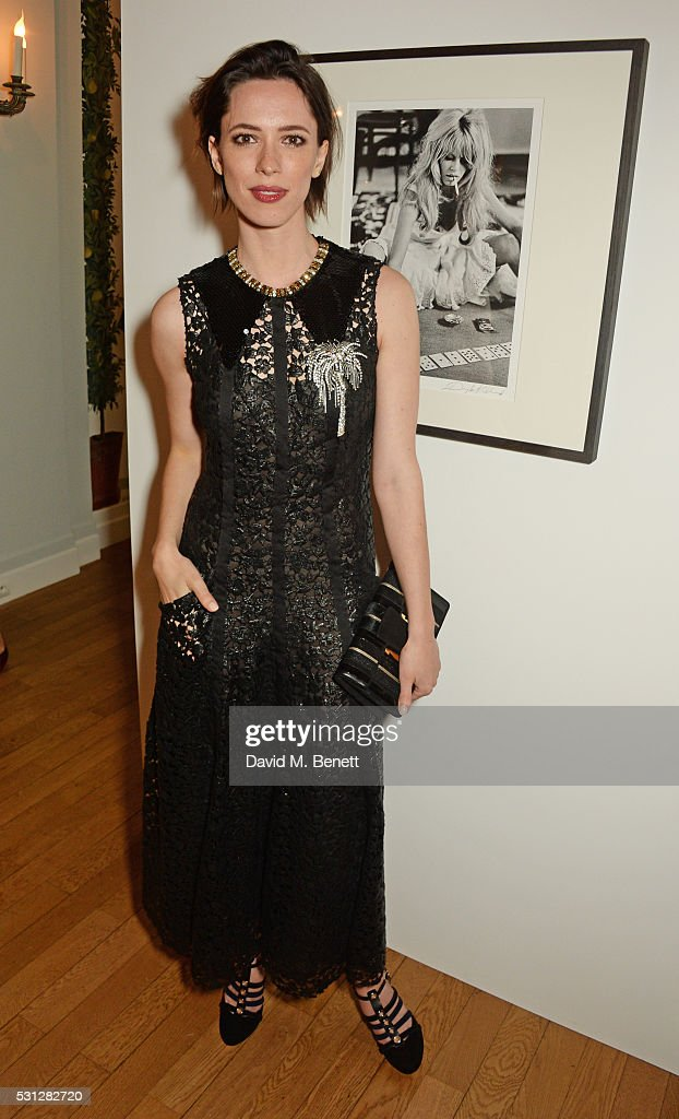 Rebecca Hall attends The 8th Annual Filmmakers Dinner hosted by Charles Finch and JaegerLeCoultre at Hotel du CapEden Roc on May 13 2016 in London...