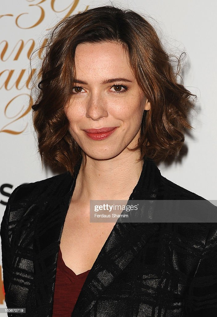 Rebecca Hall attends the Broadcasting Press Guild TV and Radio awards on March 14, 2013 in London, England.