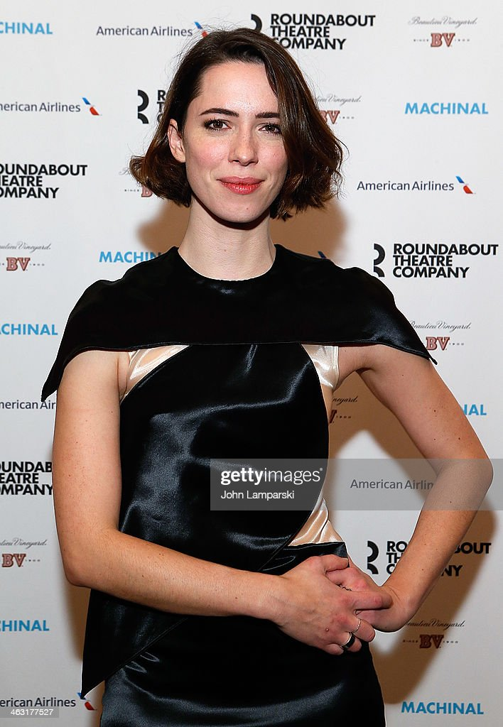 <a gi-track='captionPersonalityLinkClicked' href=/galleries/search?phrase=Rebecca+Hall&family=editorial&specificpeople=778176 ng-click='$event.stopPropagation()'>Rebecca Hall</a> attends the Broadway opening night of 'Machinal' at American Airlines Theatre on January 16, 2014 in New York, New York.