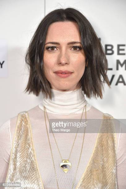 Rebecca Hall attends 'The Dinner' Premiere at BMCC Tribeca PAC on April 24 2017 in New York City