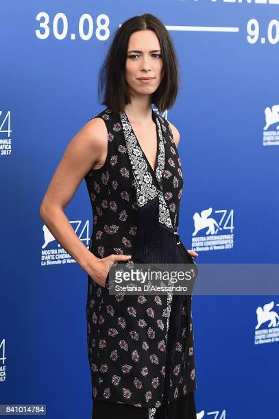 Rebecca Hall attends the Jury photocall during the 74th Venice Film Festival on August 30 2017 in Venice Italy