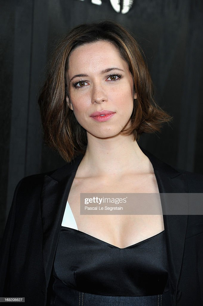 Rebecca Hall attends the Miu Miu Fall/Winter 2013 Ready-to-Wear show as part of Paris Fashion Week on March 6, 2013 in Paris, France.