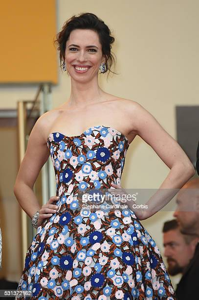 Rebecca Hall attends the 'The BFG' Premiere during the annual 69th Cannes Film Festival at the Palais des Festivals on May 14 2016 in Cannes France