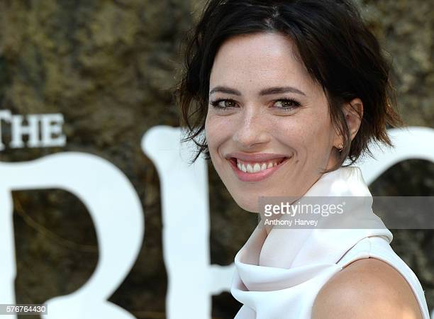 Rebecca Hall attends the UK film premiere of the BFG on July 17 2016 in London England