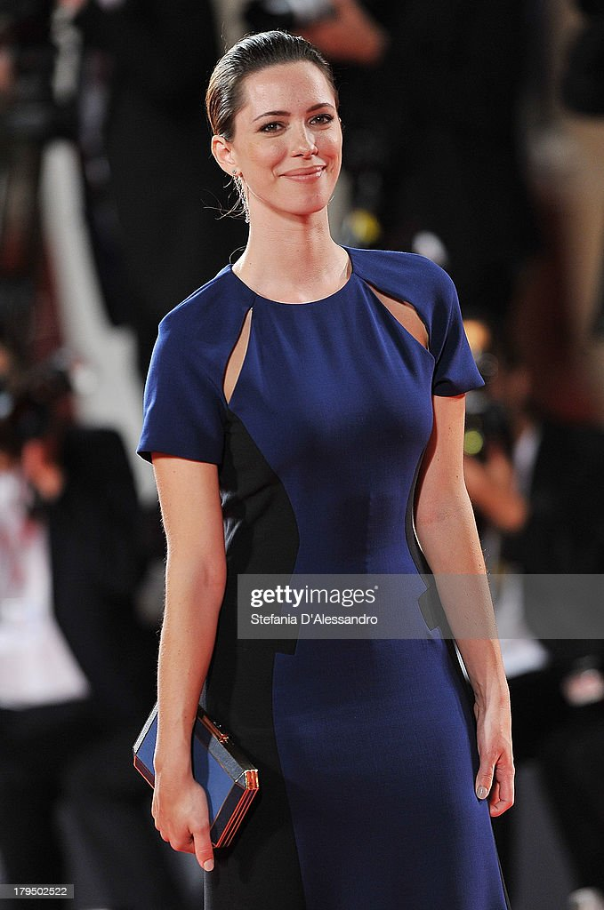 Rebecca Hall attends 'Une Promesse' Premiere at the 70th Venice International Film Festival on September 4 2013 in Venice Italy