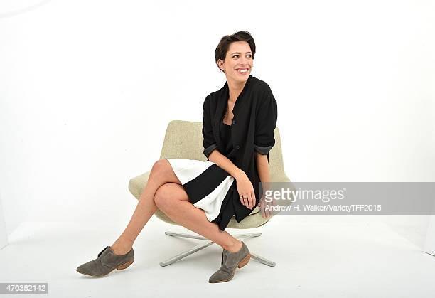 Rebecca Hall from 'Tumbledown' appears at the 2015 Tribeca Film Festival Getty Images Studio on April 18 2015 in New York City