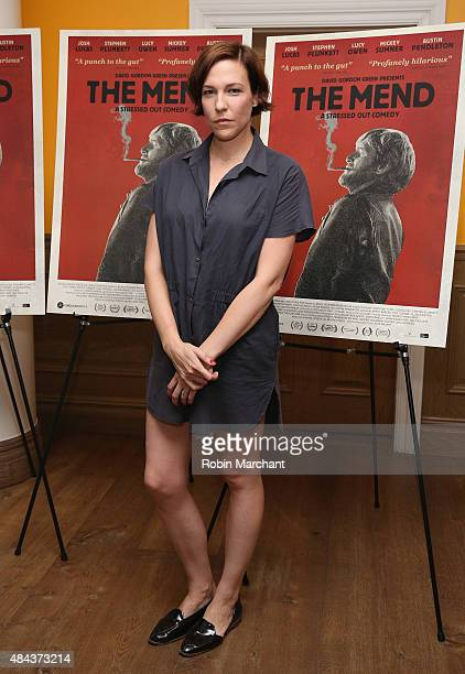 Rebecca Henderson attends 'The Mend' New York Premiere at Crosby Street Hotel on August 17 2015 in New York City