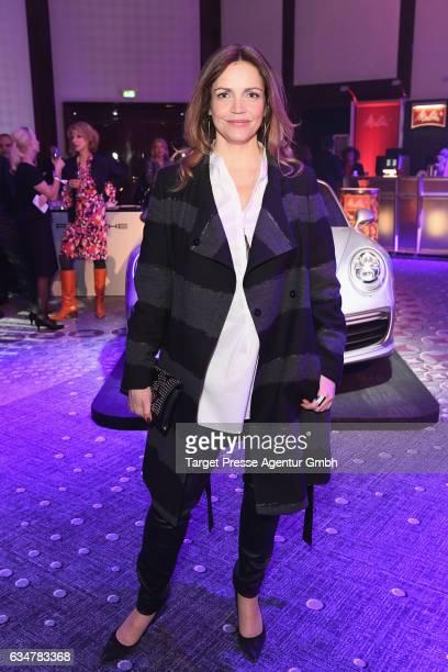Rebecca Immanuel attends the Medienboard BerlinBrandenburg Reception during the 67th Berlinale International Film Festival Berlin at on February 11...